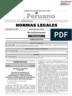 Edición Extraordinaria del Diario Oficial El Peruano (15-marzo-2020)