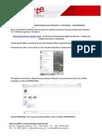 Manual Balança AD - Guia Rápido Comunicação com Windows 7 via Hiper Terminal