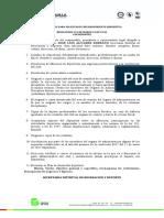 REQUISITOS PARA RECONOCIMIENTOS DEPORTIVOS