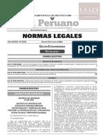 Decreto de Urgencia N° 026-2020