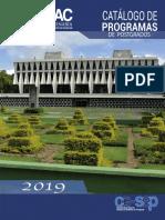 Catálogo Posgrado Usac 2019