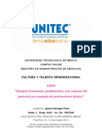 Intervención de DO en empresa de microfinanzas