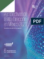 Perspectivas de la Alta Dirección en México 2020