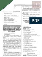 Decreto Supremo N° 003-2020-DE