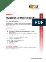 SESION 1. AUTOCAD 2D 2020