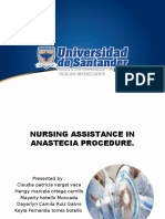 NURSING ASSISTANCE IN ANESTHESIA - state of the art I MARTES TARDE.pptx