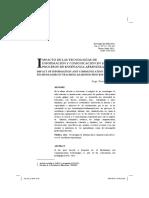 2011_Rivera_Impacto de las tecnologías de información y comunicación en los procesos de enseñanza-aprendizaje