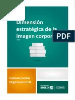 Dimension estrategica de la imagen corporativa