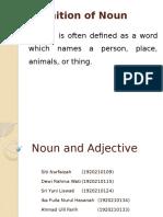 PPT Noun and Adjective