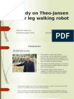 4 LEG WALKING ROBOT