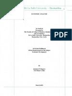 economic analysis (countries)