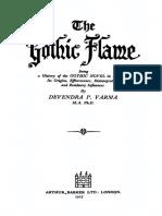 A chama gótica