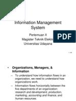 01.1 Information Management System