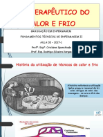 AULA 3  - FUNDAMENTOS TECNICOS - TERMOTERAPIA UNIC 2016-2