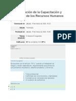 Administración de la Capacitación y Desarrollo de los Recursos Humanos