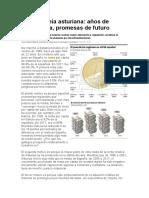 La economía asturiana, años de decadencia, promesas de futuro.