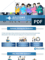Epitome Research Services_Credentials_2020_International