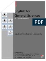 English for General Sciences