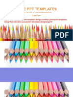 Colored-Pencils-Education-Concept-PowerPoint-Template