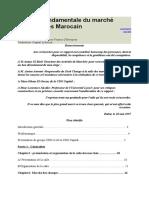 Analyse fondamentale du marché des changes Marocain