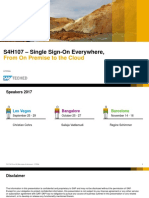 S4H107 Single Sign-On Everywhere