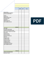 Estamating budget construction sheet & BE (Autosaved)