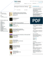 Biological Sciences_ Botany from the University of Chicago Press_(Book list With Authors).pdf