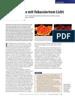 Nanoskopie mit fokussierten Licht