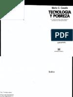 Mario Casalla, Tecnología y Pobreza