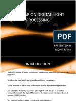 Seminar on Digital Light Processing