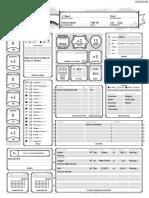 Ziri BARD D&D Character Sheet 2019