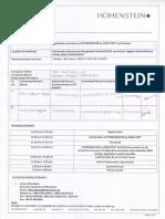 Hohenstein Registration Form
