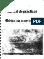 MANUAL DE PRACTICAS. HIDRAULICA CONVENCIONAL (CUADERNO DEL ALUMNO).pdf