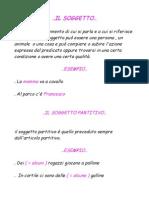 Martina Vellutini II C Borsi Soggetto Attributo Apposizione & Complemento Oggetto..