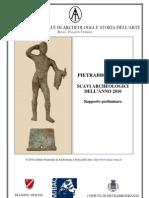 Rapporto Preliminare 2010_INASA-scavi Pietrabbondante