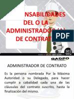 ADMINISTRADOR DE CONTRATO