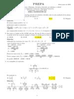 Solucionario del examen de ingreso Economía - Ingenierías
