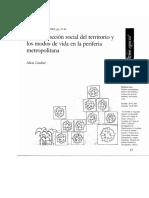Lindon 2002 la construcción social del territorio.pdf