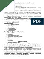EXPLORAREA FUNCTIONALA A APARATULUI CARDIOVASCULAR.docx