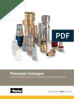 Parker Pneumatic Quick Release Couplings 3800-UK