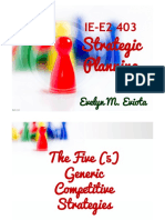 05_The Five (5) Generic Competitive Strategies