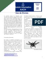 Informativo AACH N°9 Uso de Drones
