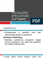 Chapter 4 - speciaLized app software