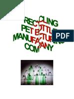 Business-Plan-Pet-Bottle