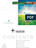 Equator Annual Report 2009 (791kb)