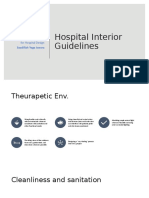 Hospital Interior Guidelines + Issolation room.