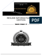 Resume Informatique de Gestion v2