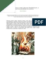 Index Librorum Prohibitorum, a lista de livros proibidos na história