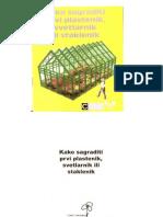 Knjiga o Plastenicima i Staklenicima ZA CVECE