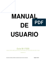 Manual de usuario M-17020